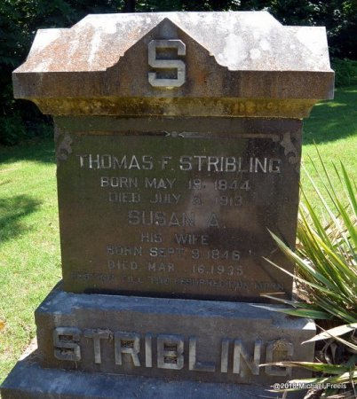 STRIBLING, THOMAS F. - Lawrence County, Missouri | THOMAS F. STRIBLING - Missouri Gravestone Photos