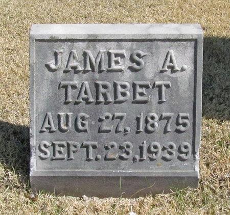 TARBET, JAMES A - Lawrence County, Missouri | JAMES A TARBET - Missouri Gravestone Photos