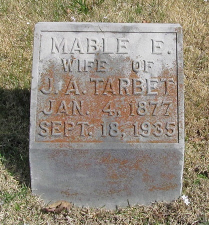 TARBET, MABLE E - Lawrence County, Missouri | MABLE E TARBET - Missouri Gravestone Photos