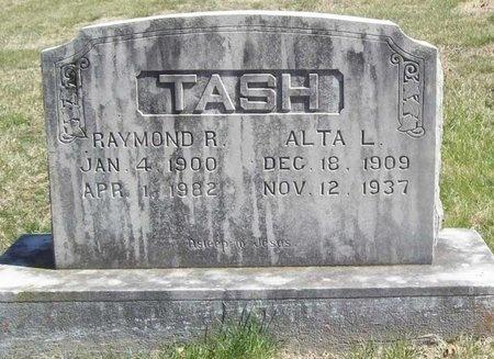 TASH, ALTA L. - Lawrence County, Missouri   ALTA L. TASH - Missouri Gravestone Photos