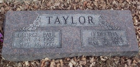 TAYLOR, GEORGE PAUL - Lawrence County, Missouri | GEORGE PAUL TAYLOR - Missouri Gravestone Photos