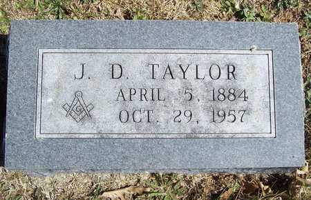 TAYLOR, J. D. - Lawrence County, Missouri | J. D. TAYLOR - Missouri Gravestone Photos