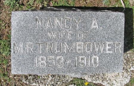 TRUMBOWER, NANCY A - Lawrence County, Missouri | NANCY A TRUMBOWER - Missouri Gravestone Photos