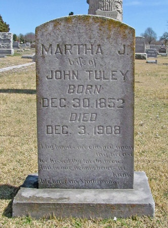 SIMPSON TULEY, MARTHA JANE - Lawrence County, Missouri | MARTHA JANE SIMPSON TULEY - Missouri Gravestone Photos