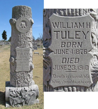 TULEY, WILLIAM H - Lawrence County, Missouri | WILLIAM H TULEY - Missouri Gravestone Photos