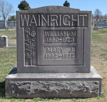WAINRIGHT, WILLIAM M - Lawrence County, Missouri | WILLIAM M WAINRIGHT - Missouri Gravestone Photos