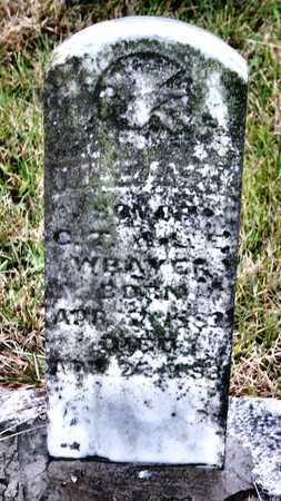 WEAVER, WILLIAM - Lawrence County, Missouri | WILLIAM WEAVER - Missouri Gravestone Photos