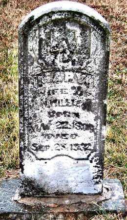 WILLIAMS, MARY - Lawrence County, Missouri   MARY WILLIAMS - Missouri Gravestone Photos
