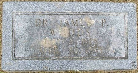 WOODS, JAMES PERVINE, DR. - Lawrence County, Missouri | JAMES PERVINE, DR. WOODS - Missouri Gravestone Photos