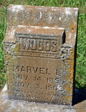 WOODS, MARVEL L. - Lawrence County, Missouri   MARVEL L. WOODS - Missouri Gravestone Photos
