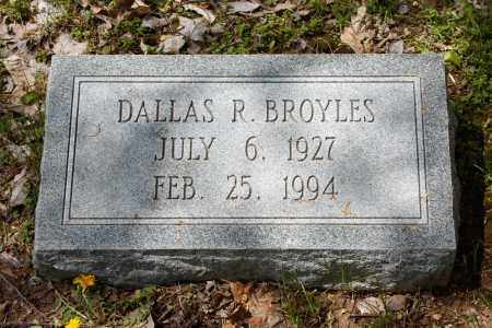 BROYLES, DALLAS R - Lincoln County, Missouri | DALLAS R BROYLES - Missouri Gravestone Photos