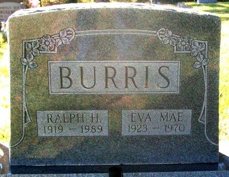 BURRIS, EVA MAE - Macon County, Missouri   EVA MAE BURRIS - Missouri Gravestone Photos