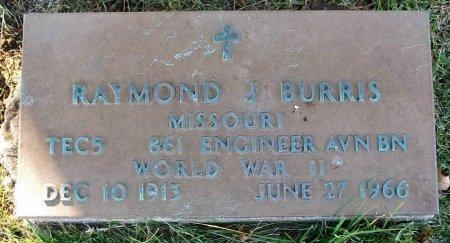 BURRIS, RAYMOND J. (VETERAN WWII) - Macon County, Missouri | RAYMOND J. (VETERAN WWII) BURRIS - Missouri Gravestone Photos