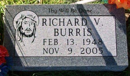 BURRIS, RICHARD VERNIE - Macon County, Missouri   RICHARD VERNIE BURRIS - Missouri Gravestone Photos