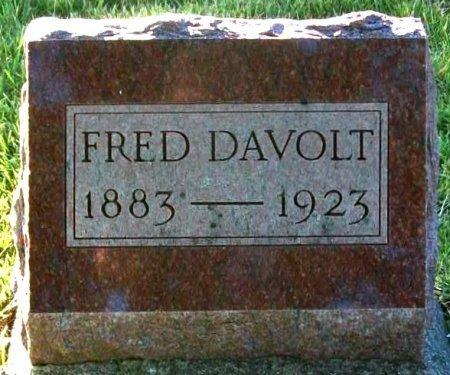 DAVOLT, FRED - Macon County, Missouri   FRED DAVOLT - Missouri Gravestone Photos
