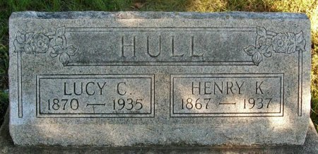 MENAFEE HULL, LUCY C - Macon County, Missouri | LUCY C MENAFEE HULL - Missouri Gravestone Photos