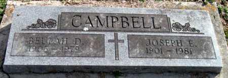 CAMPBELL, BEULAH D - McDonald County, Missouri | BEULAH D CAMPBELL - Missouri Gravestone Photos