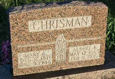 CHRISMAN, ALBERT EDGAR - McDonald County, Missouri | ALBERT EDGAR CHRISMAN - Missouri Gravestone Photos