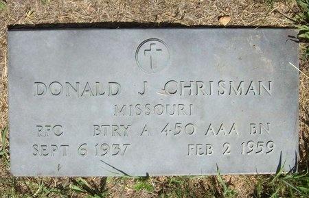 CHRISMAN, DONALD J (VETERAN) - McDonald County, Missouri   DONALD J (VETERAN) CHRISMAN - Missouri Gravestone Photos
