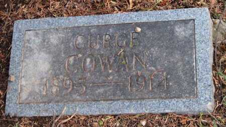 COWAN, GURGE - McDonald County, Missouri | GURGE COWAN - Missouri Gravestone Photos
