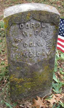 COWAN, JAMES H VETERAN UNION - McDonald County, Missouri   JAMES H VETERAN UNION COWAN - Missouri Gravestone Photos