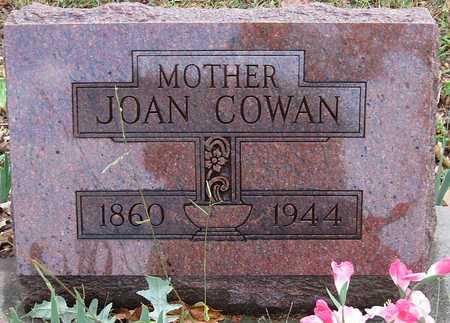 COWAN, JOAN - McDonald County, Missouri | JOAN COWAN - Missouri Gravestone Photos