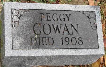 COWAN, PEGGY - McDonald County, Missouri | PEGGY COWAN - Missouri Gravestone Photos