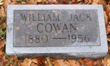 COWAN, WILLIAM JACK - McDonald County, Missouri   WILLIAM JACK COWAN - Missouri Gravestone Photos