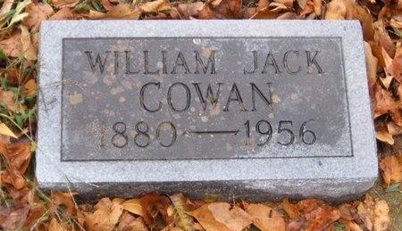 COWAN, WILLIAM JACK - McDonald County, Missouri | WILLIAM JACK COWAN - Missouri Gravestone Photos