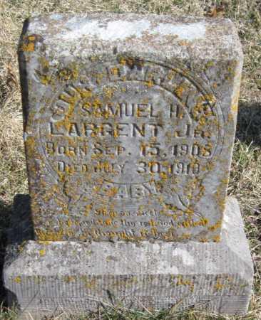 LARGENT, SAMUEL H JR - McDonald County, Missouri | SAMUEL H JR LARGENT - Missouri Gravestone Photos
