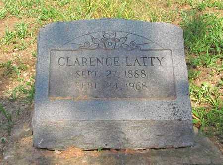 LATTY, CLARENCE - McDonald County, Missouri | CLARENCE LATTY - Missouri Gravestone Photos