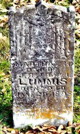 LUMMIS, MARTHA H - McDonald County, Missouri | MARTHA H LUMMIS - Missouri Gravestone Photos