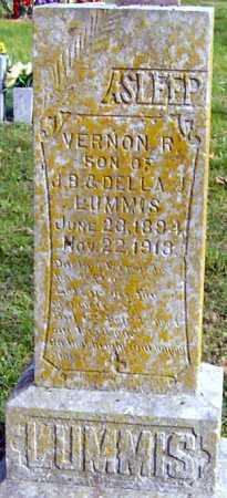 LUMMIS, VERNON R - McDonald County, Missouri | VERNON R LUMMIS - Missouri Gravestone Photos