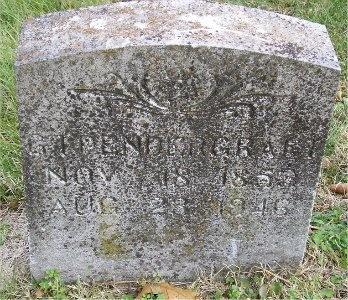PENDERGRAFT, GEORGE IRVIN - McDonald County, Missouri | GEORGE IRVIN PENDERGRAFT - Missouri Gravestone Photos