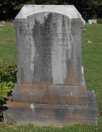 ROBERTSON, JAMES W. - McDonald County, Missouri   JAMES W. ROBERTSON - Missouri Gravestone Photos