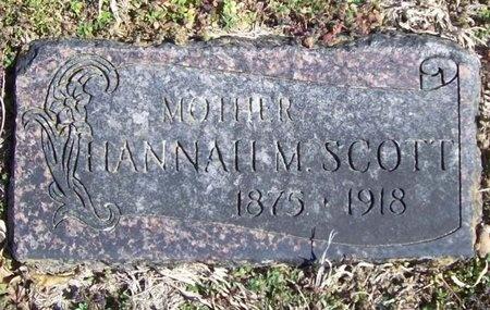 SCOTT, HANNAH M. - McDonald County, Missouri | HANNAH M. SCOTT - Missouri Gravestone Photos