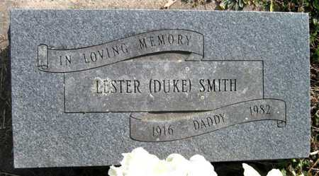 "SMITH, LESTER ""DUKE"" - McDonald County, Missouri | LESTER ""DUKE"" SMITH - Missouri Gravestone Photos"