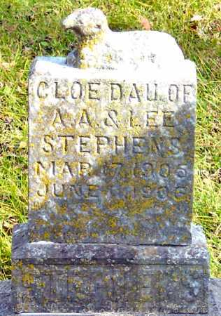 "STEPHENS, CLOE ""SIBBIE"" - McDonald County, Missouri | CLOE ""SIBBIE"" STEPHENS - Missouri Gravestone Photos"