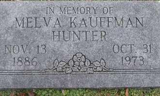 HUNTER, MELVA - Morgan County, Missouri | MELVA HUNTER - Missouri Gravestone Photos