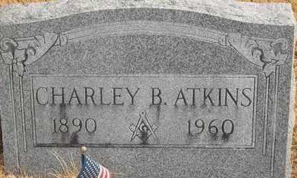 ATKINS, CHARLEY B - Morgan County, Missouri | CHARLEY B ATKINS - Missouri Gravestone Photos