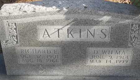 ATKINS, D WILMA - Morgan County, Missouri   D WILMA ATKINS - Missouri Gravestone Photos