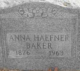 BAKER, ANNA - Morgan County, Missouri | ANNA BAKER - Missouri Gravestone Photos