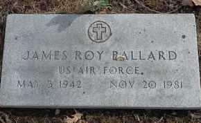 BALLARD - MILITARY, JAMES ROY - Morgan County, Missouri | JAMES ROY BALLARD - MILITARY - Missouri Gravestone Photos