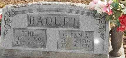 BAQUET, ETHEL - Morgan County, Missouri | ETHEL BAQUET - Missouri Gravestone Photos
