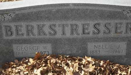 BERKSTRESSER, GEORGE W - Morgan County, Missouri | GEORGE W BERKSTRESSER - Missouri Gravestone Photos