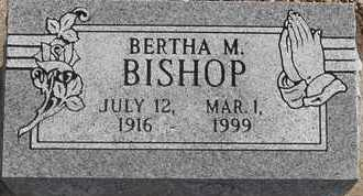 BISHOP, BERTHA M - Morgan County, Missouri | BERTHA M BISHOP - Missouri Gravestone Photos