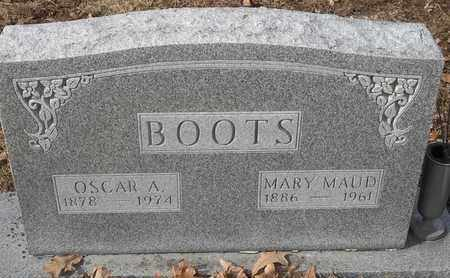BOOTS, OSCAR A - Morgan County, Missouri | OSCAR A BOOTS - Missouri Gravestone Photos