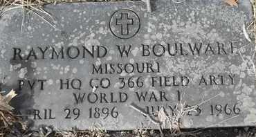 BOULWARE - MILITARY, RAYMOND - Morgan County, Missouri | RAYMOND BOULWARE - MILITARY - Missouri Gravestone Photos