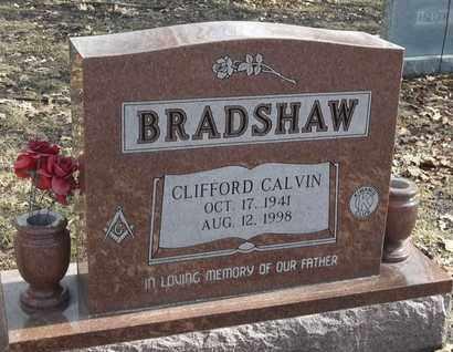 BRADSHAW, CLIFFORD CALVIN - Morgan County, Missouri | CLIFFORD CALVIN BRADSHAW - Missouri Gravestone Photos