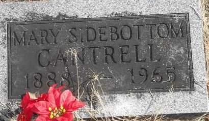 CANTRELL, MARY - Morgan County, Missouri | MARY CANTRELL - Missouri Gravestone Photos